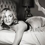 Diane Kruger Art Print