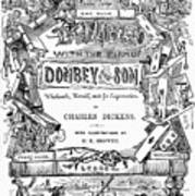 Dickens: Dombey And Son Art Print
