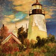 Dice Head ,castine, Maine Art Print