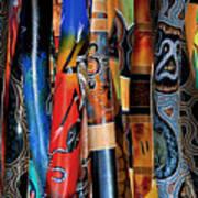 Digeridoos Art Print
