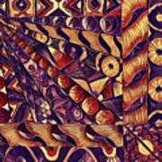 Digital Abstract 1 Art Print