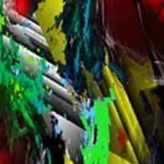 Digital Abstraction 070611 Art Print