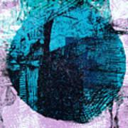 Digital Abstraction Art Print