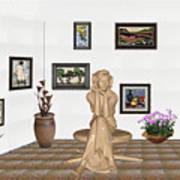 digital exhibition _ Memories of childhood 6 Art Print