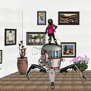Digital Exhibition 421 Art Print