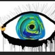 Digital Tears Art Print