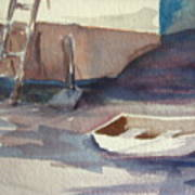 Dinghy Art Print