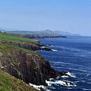 Dingle Coast Near Fahan Ireland Art Print