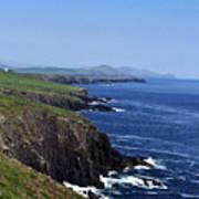 Dingle Coast Near Fahan Ireland Art Print