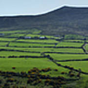 Dingle Peninsula Panorama Ireland Art Print