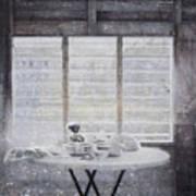 Dining Table- Swink Art Print