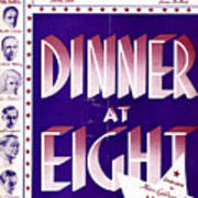 Dinner At Eight Art Print
