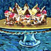 Dinner Cake Art Print