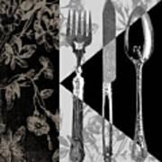 Dinner Conversation Art Print