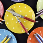 Dinner Party Table Setting Art Print
