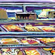 Dinner Pastry Case Art Print