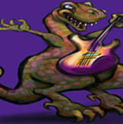 Dinorock Art Print