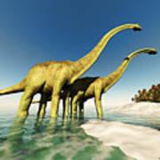 Dinosaur World Art Print