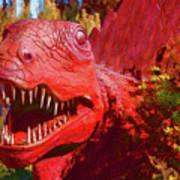 Dinosaurs 8 Art Print