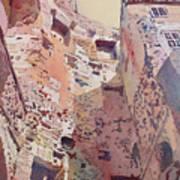 Diocletian Courtyard Art Print