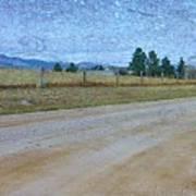 Dirt Road Art Print