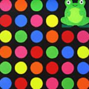 Discofrog Art Print