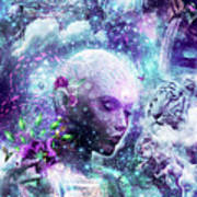 Discovering The Cosmic Consciousness Art Print