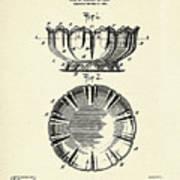 Dish-1900 Art Print
