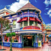 Disney Clothiers Main Street Disneyland 01 Art Print