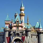 Disneyland Castle Art Print