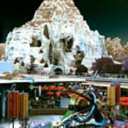Disneyland Tomorrowland - Pop Color Art Print