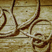 Dispatched Ropes And Voyages Art Print