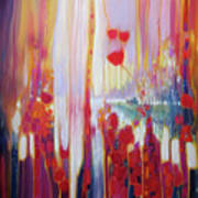 Distant Memory - A Semi Abstract Landscape Art Print