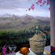 Distant View Art Print