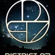 District 97 Logo Art Print