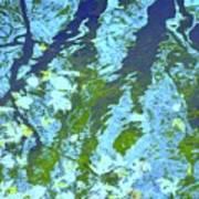 Disturbed Blues Art Print