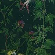 Ditchweed Fairy Raspberry Picking Art Print