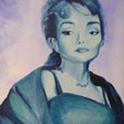 Diva I Maria Callas  Art Print