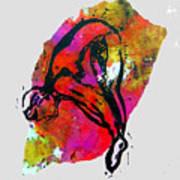 Dive - Warm Art Print