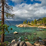 Divers Cove At Lake Tahoe Art Print