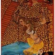 Divine Bath Art Print