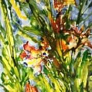 Divine Blooms-21061 Art Print