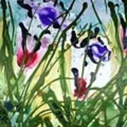 Divine Blooms-21174 Art Print