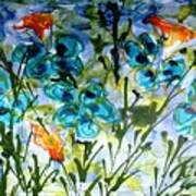 Divine Blooms-21180 Art Print
