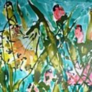 Divine Blooms-21191 Art Print