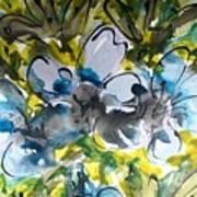 Divine Blooms-21195 Art Print