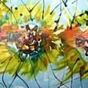 Divine Blooms-21202 Art Print