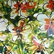 Divine Blooms-21203 Art Print
