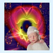 Divine Heart/bigstock - 92883674 Baby Art Print