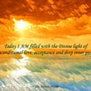 Divine Light - Ss1200b Art Print